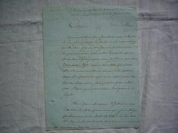 Révolution An 2 De La République Lettre Concernant La Répartition Des Soulliers - Historische Documenten