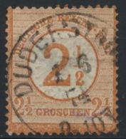 Deutsches Reich 29 O Rücks. Kleiner Blaufleck - Deutschland