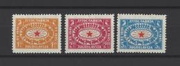 YOUGOSLAVIE.  YT  N° 442/444  Neuf *  1946 - Neufs