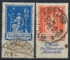 Deutsches Reich 233/34 O - Germania