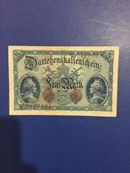 GERMANY BANKNOTE 5 MARK 1914 UNC - [ 2] 1871-1918 : Imperio Alemán