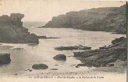 GROIX Port St Nicolas Et Le Rocher De La Vache - Groix