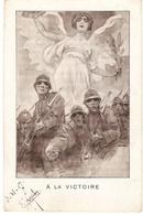 Carte Postale Du Comité De Propagande Patriote ( Italie Pour Amiens ) Guerre 14/18 - Italien