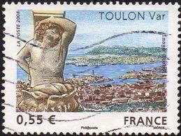 France Oblitération Moderne N° 4257 - Toulon (Var) Atlante De L'Hôtel De Ville, Art - Oblitérés