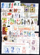 Monaco Petite Collection Neufs ** MNH 2004/2008. TB. A Saisir! - Monaco