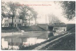 Frouard - Pont Sur Le Canal De Le Marne Au Rhin. D5 - Frouard