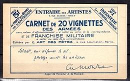 Carnet Franchise Militaire Maury N° 246B Neuf ** MNH. TB. A Saisir! - Carnets
