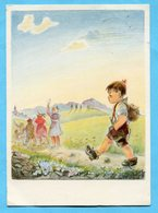 Pro Juventutekarte Nr. 190 Der Eigenbrötler Mit Pro Juventutefrankatur - Pro Juventute