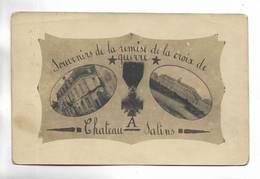57 - Souvenirs De La Remise De La Croix De Guerre à CHATEAU-SALINS. Carte-photo Originale - Chateau Salins
