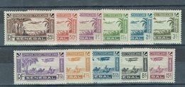 Sénégal - P. Aérienne N° 1/11 - Neufs - X - Traces Propres - - Airmail
