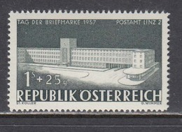 Austria 1957 - Tag Der Briefmarke, Mi-Nr. 1039, MNH** - 1945-.... 2nd Republic
