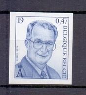 2886 Koning Albert II 19fr ONGETAND POSTFRIS**  2000 - Belgique