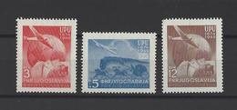 YOUGOSLAVIE.  YT  N° 520/522  Neuf *  1949 - Neufs