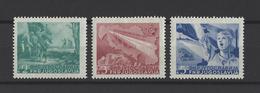 YOUGOSLAVIE.  YT  N° 527/529  Neuf *  1949 - Neufs