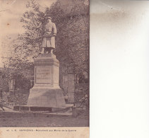 ASPRIERES   LE MONUMENT AUX MORTS DE LA GUERRE - Francia