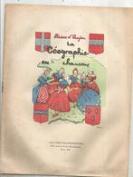 JC , Partition Musicale , 1943 , LA GEOGRAPHIE EN CHANSONS , 10 Partitions , 12 Pages , 4 Scans ,  Frais Fr 2.45 E - Partituren