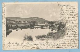TH0495  CPA  REMIREMONT (Vosges)  Vue De La Baignade - Usine  +++++++ - Remiremont