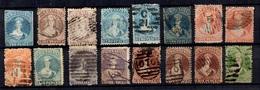 Nouvelle-Zélande Belle Petite Collection De Classiques 1858/1875. Bonnes Valeurs. A Saisir! - Usati