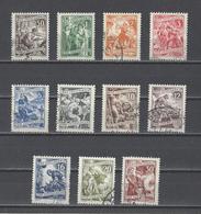 YOUGOSLAVIE.  YT  N° 554/560 (manque 560A) Obl  1950 - 1945-1992 República Federal Socialista De Yugoslavia