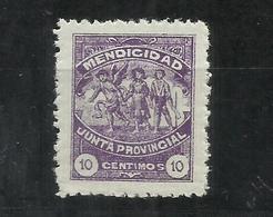 8283-SELLO MENDICIDAD TENERIFE CANARIAS NUEVO ** RARO,ESCASO,ALTO VALOR.BENEFICO,BENEFICENCIA.JUNTA PROVINCIAL. - Wohlfahrtsmarken