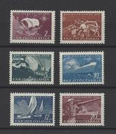 YOUGOSLAVIE.  YT  N° 562/567  Neuf *  1950 - Neufs