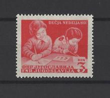YOUGOSLAVIE.  YT  N° 568  Neuf *  1951 - Neufs