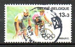 BELGIQUE. N°2286 Oblitéré De 1988. Cyclisme Aux J.O. De Séoul. - Wielrennen