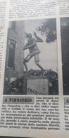 SETTIMANA INCOM 1954 PINOCCHIO ANCONA FRANCESCO BORRELLO EROE BATTIPAGLIA AVENZA GALTELLI' BITONTO - Libros, Revistas, Cómics