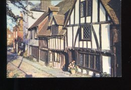 CPM Neuve Royaume Uni Sussex RYE Old Houses This Beautiful Corner So Typical Of Rye - Rye