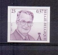 2933 Koning Albert II 23fr ONGETAND POSTFRIS**  2000 - Belgique