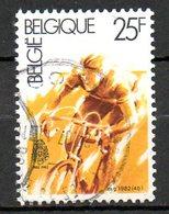 BELGIQUE. N°2040 Oblitéré De 1982. Cyclisme. - Wielrennen