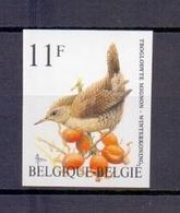2449 Winterkoninkje Buzin Vogel ONGETAND POSTFRIS**  1992 - Belgique