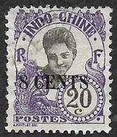 INDOCHINE  1919 - YT 78 - Oblitéré - Indochina (1889-1945)