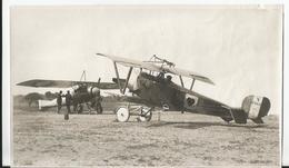 Photo -  Avion Avec Mitrailleuse - à Identifier  - Thème Aviation - Aéroplane - - Aviation