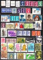 English Stamps 50 Pieces, EUR 15,80 1959-76 (e 409) - Great Britain