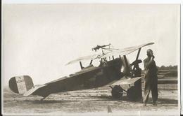 Photo - Pilote Et Son Avion à Identifier  - Thème Aviation - Aéroplane - Avion  Guerre Meuse ?? WW1 - Aviation
