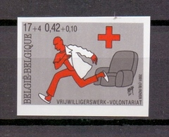 3022 RODE KRUIS RED CROSS ONGETAND POSTFRIS** 2001 - Belgique