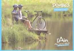 L'Ain-Mon Luxe Au Naturel-Vélo Aux Bords Des Dombes-Pause Au Bord De L'étang (Cyclisme -Sport De Loisir) - Cyclisme