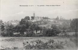 35 - MONTAUTOUR - Vue Générale - Route De Saint-M'Hervé - Cpa - écrite  - - Francia