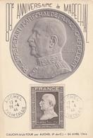 Carte Maximum - Maréchal Pétain - Cauchy-à-la-Tour Par Auchel 1944 - France