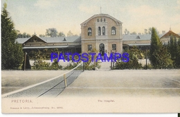 128643 SOUTH AFRICA PRETORIA THE HOSPITAL & COURT TENNIS POSTAL POSTCARD - Libyen