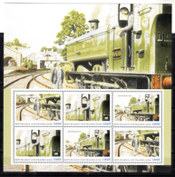 Trein, Train, Locomotive, Eisenbahn : Railway Heritage: Centraal Afrika ; Great Western Essence GWE - Treni