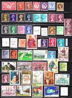 English Stamps 52 Pieces, EUR 19,50 1953-81 (e 412) - Great Britain