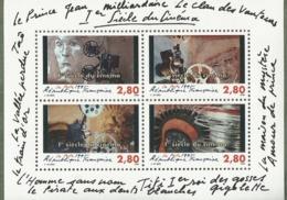 BF N° 17** NSC (1995)  1er Siècle Du Cinéma - Blocs & Feuillets