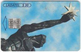 MEXICO B-236 Chip Telmex - Culture, Sculpture - Used - Mexico