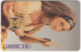 MEXICO B-240 Chip Telmex - Culture, Traditional Puppet - Used - Mexico