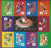 BF N° 19** NSC (1998) France 98 Coupe Du Monde De Football - Blocs & Feuillets