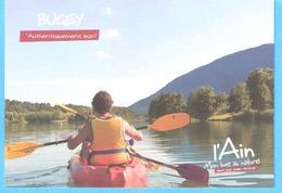 L'Ain-Bugey-Mon Luxe Au Naturel-Canoë-Kayak, Coups De Pagaies Sur Le Rhône (Seyssel)-(Sport De Loisir) - Ansichtskarten