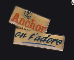 61137- Pin's..Anchor.ancre Marine.. - Barcos
