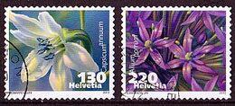 (2294-2295) Schweiz 2013 Flora - Flowering Plants  O Used/gestempelt (A-7-26) - Switzerland